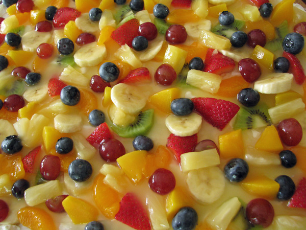 Fruit pizza tp 2