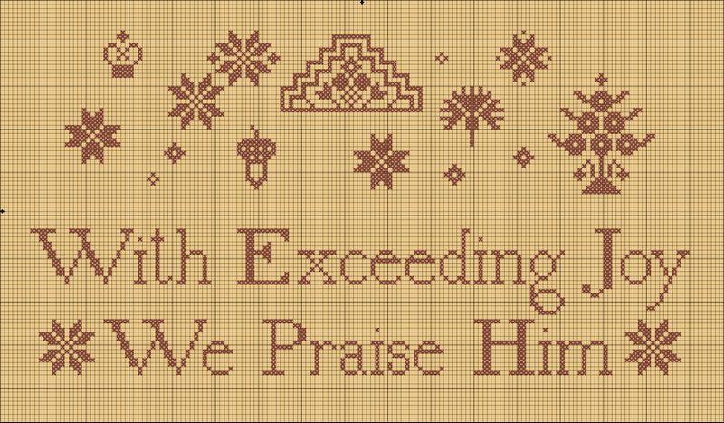 Christmas 2009 free pattern