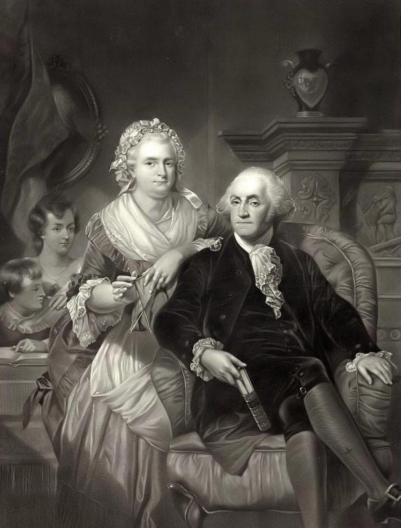 George-and-martha-washington
