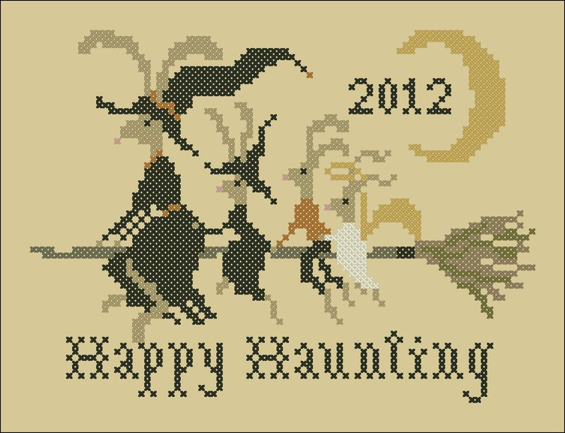 Hares' Happy Haunting color