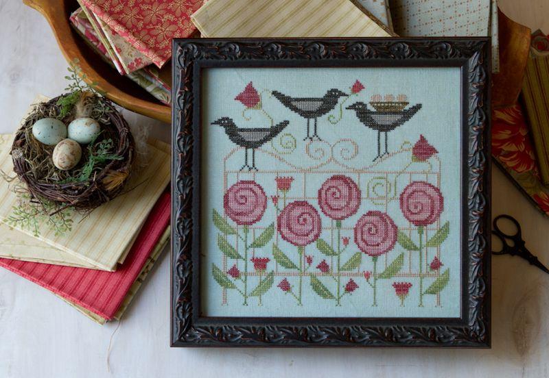 Trellis Blackbirds MODEL