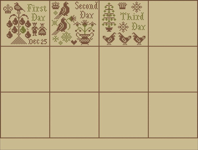 Week 1 Sampler Layout