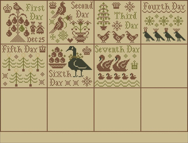 Week 5 Sampler Layout