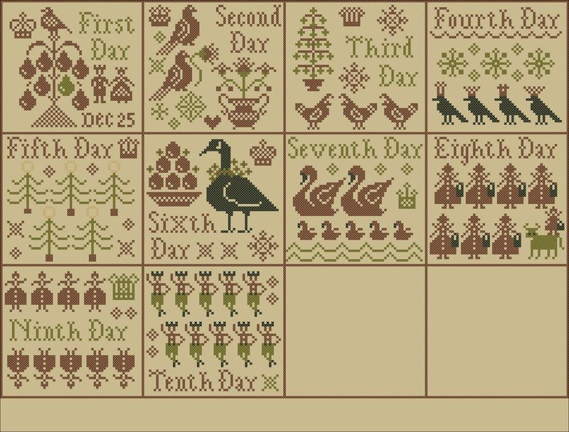 Week 8 Sampler Layout