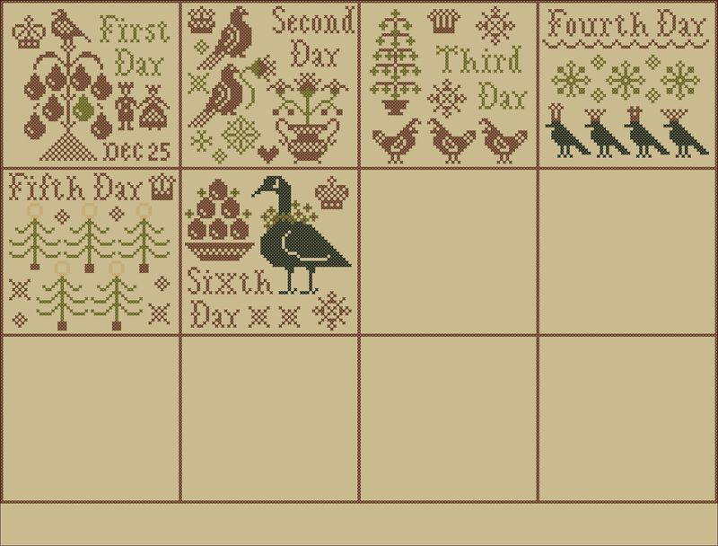 Week 4 Sampler Layout