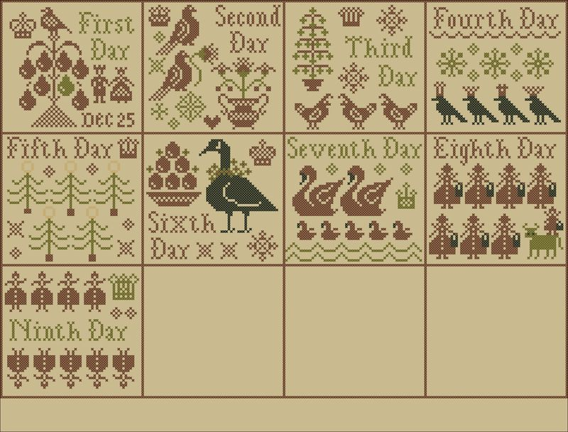 Week 7 Sampler Layout