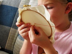 Sophie_stitching_3